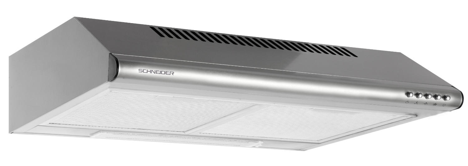 Stainless steel cooker extraction hood - Schneider