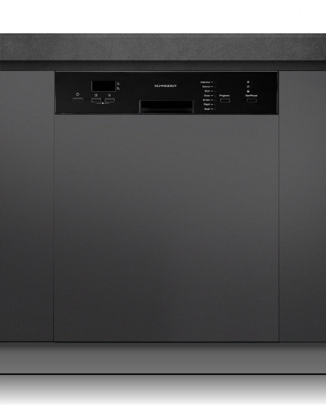 Built-in dishwasher 60 cm black - Schneider