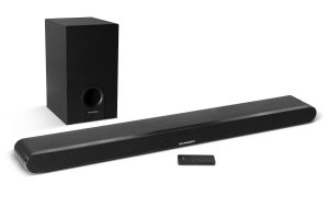 The 2.1 TV Sound Bar – Wireless subwoofer